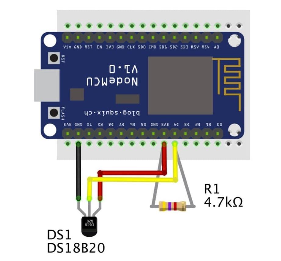 Termometr DS18B20 i ESPEasy